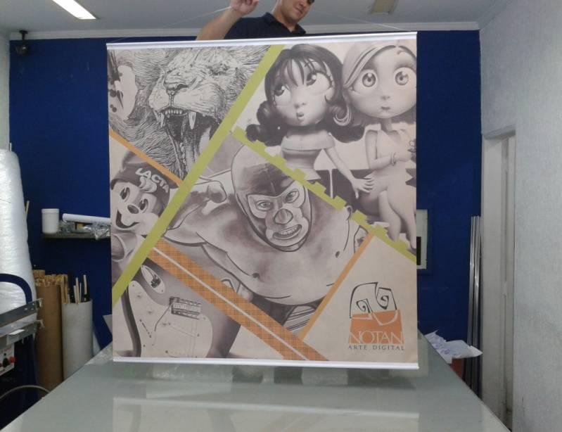 Canvas Impressão Digital Santo Amaro - Solução para Comunicação Visual