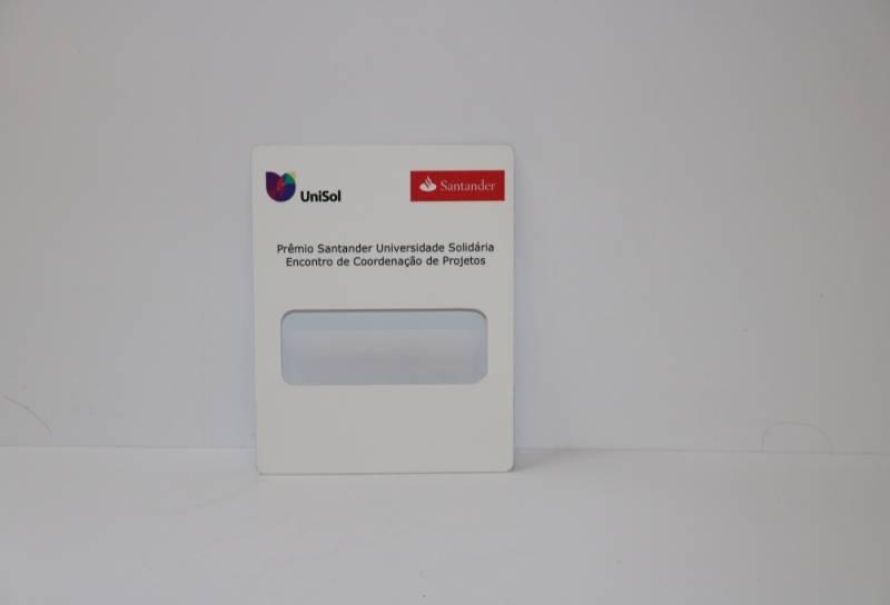 Impressão de Credencial em PVC Diadema - Impressão em PVC Expandido