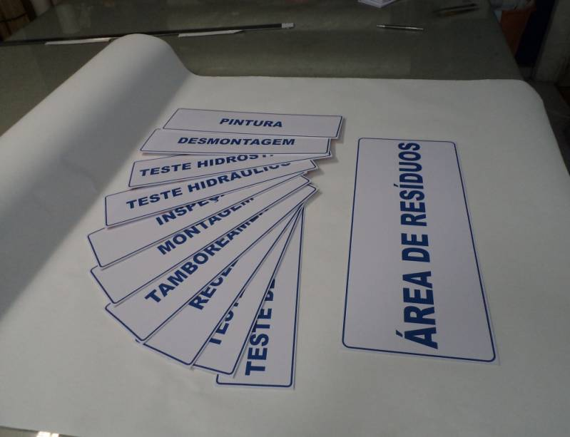 Impressão Offset em PVC em Sp República - Impressão em PVC