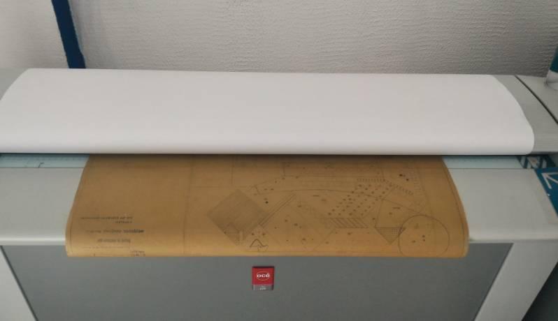 Plotagem para Planta de Arquitetura Bairro do Limão - Gráfica de Plotagem de Planta