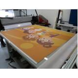 banner de lona para comunicação visual preço Santo Amaro