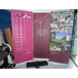 banner de lona para comunicação visual
