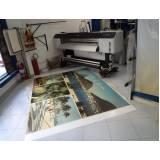 impressão em chapa de acrílico preço Vila Buarque